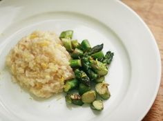 Citrus Risotto with Asparagus from Emma