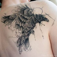Raven-Tattoos-Raben-Idea-001