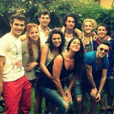 Un'altra volta tutti insieme,todos juntos #Violetta3