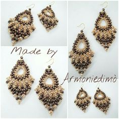 Handmade earrings Made by Armoniedimò