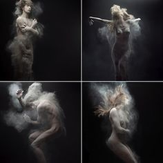 Olivier Valsecchi takes stunning photos using dust