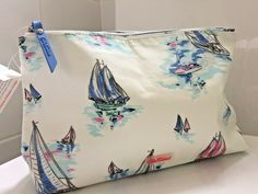 Cath Kidston large Make Up Bag BNWT Sailing Ships 5055914122848   eBay Cath Kidston, Sailing Ships, Diaper Bag, Coastal, Make Up, Bags, Google Search, Handbags, Diaper Bags
