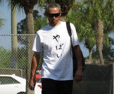 イチロー「やばい」Tシャツで球場入り アストロズ戦で青木と初競演へ