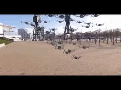 56 Quadcopter Formation of Forthcoming Doom - YouTube