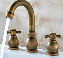 Atacado antique Bronze Europeu Bbasin Torneiras. Modern Banheiro Vessel Sink…