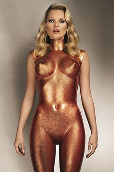 Kate Moss + Allen Jones for POP magazine, Autumn/Winter 2013.