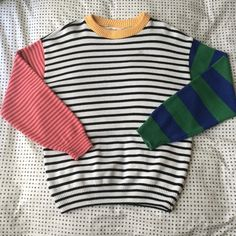 American Apparel Sweaters - American Apparel Recycled Cotton Stripe