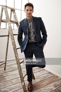 Matt Lanter from NBCUniversal's 'Timeless' poses for a portrait at the 2016 Summer TCA Getty Images Portrait Studio at the Beverly Hilton Hotel on...