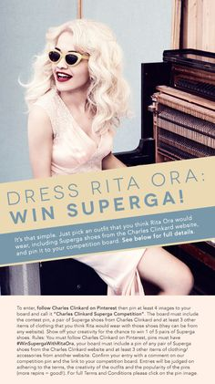 Dress Rita Ora: Win Superga!