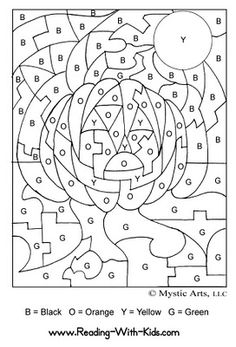 Groovy Pumpkin: 'Everything Pumpkin' - DAY 21: Colouring in Pictures