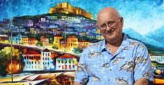 Leonid Afremov Biography - Regarded as the best palette knife and oil painting maestro, Russian–Israeli artist Leonid Afremov is one of the most unique artists working today. Colorful Paintings, Beautiful Paintings, Wassily Kandinsky, City Scene, Leonid Afremov Paintings, Palette Knife, Marc Chagall, Famous Artists, Artist At Work