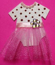 Distintivo Baby Shower Niña_dots #bailarina #bebe #muñeca