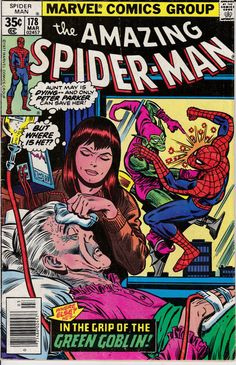 Amazing Spider-Man 178 March 1978 Issue Marvel by ViewObscura Marvel Comic Book cover