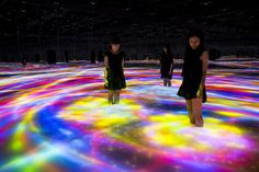 Interactive Koi Pond by Teamlab                                                                                                                                                                                 More