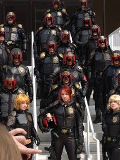 Dredd Cosplay from DragonCon - Giant Japanese Robot