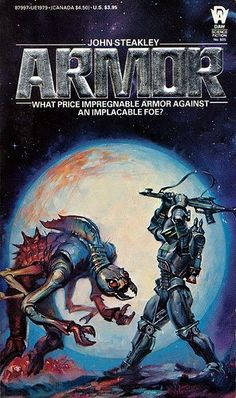 Armor by John Steakley (September/October 2012 Sci-Fi Book Club Read)