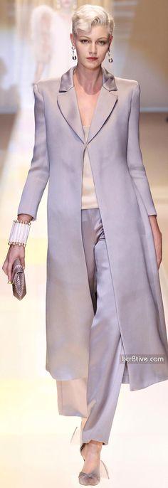 strollin through the women's fashion page and strolling past Rachael.  Giorgio Armani Privé F/W 2013-14 Couture
