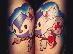 birdie and sakura #tattoo