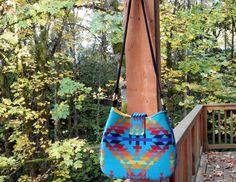 Pendleton wool Navajo hobo bag purse Native American by UrbanCamp