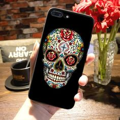Reaper Skull Skeleton Black Phone Case