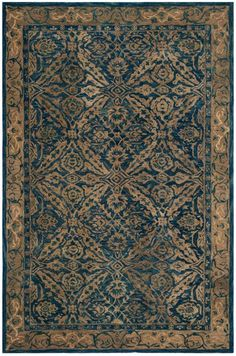 Rug AN583A - Safavieh Rugs - Anatolia Rugs - Wool Rugs - Area Rugs - Runner Rugs