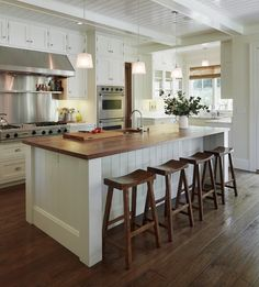 Classic with a Twist: Would you Choose WOOD Counters?