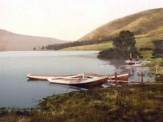 Scotland.  St. Marys Loch, Moffat, Scotland.  Again this photo was taken between 1890 and 1900.