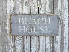 A personal favorite from my Etsy shop https://www.etsy.com/listing/385331096/beach-house-sign-70-color-options-wood