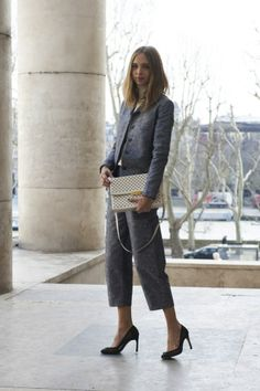 Paris Fashion Week Street Style: Sweet Treats