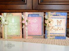 Authentique Paper: Hello Spring! Easter Treasures with Authentique Paper & Petaloo!