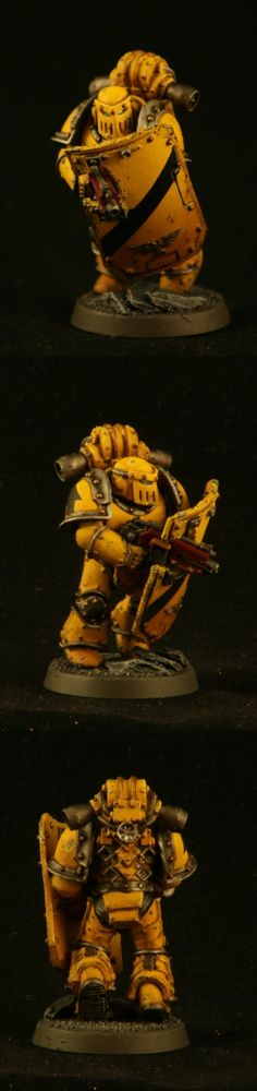Forge World, Imperial Fists, Weathered