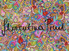 paisley print textile design https://www.facebook.com/FlorentinaPrint