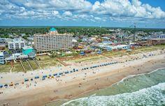 Carolina Beach Boardwalk, High Tide, Beach Chairs, Dolores Park, Island, Travel, Viajes, Islands, Destinations