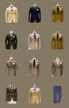 The Style Buff // by Gianni Fontana — Jackets, Carlos Castillo, MAN 1924 Gents Fashion, Suit Fashion, Style Fashion, Dapper Gentleman, Gentleman Style, Sharp Dressed Man, Well Dressed Men, Style Anglais, Traje Casual