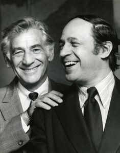 Leonard Bernstein et Pierre Boulez, 1974