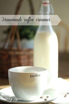 Homemade Coffee Creamer - Nutmeg Place