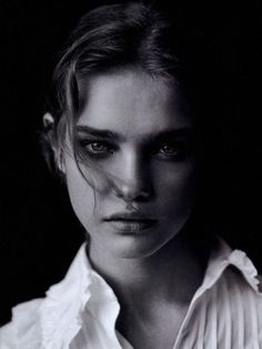 Natalia Vodianova by Peter Lindbergh for Vogue Italia, May 2003