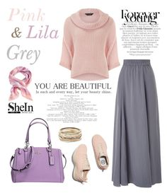 """""""#82"""" by my-hijab ❤ liked on Polyvore featuring Dorothy Perkins, Phase Eight, Kendra Scott and Coach"""