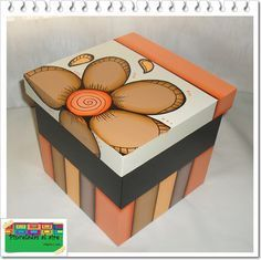 Discover thousands of images about Cuadros Madera Mdf Hawaii Dermatology Images Wallpaper Diy Gift Box, Diy Box, Diy Gifts, Recycled Crafts, Diy And Crafts, Painted Wooden Boxes, Decoupage Box, Faux Stained Glass, Country Paintings
