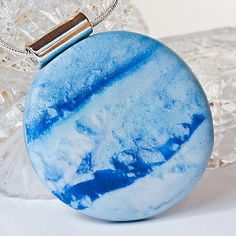 Blue Planet Necklace #pohddesign #peaceful #modern