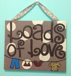 Laundry Room art by CatchyCanvases on Etsy, $35.00