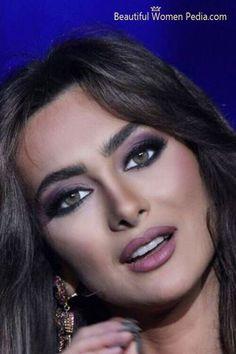 maquillage libanais glamour makeup eyeliner - Maquillage Libanais Mariage