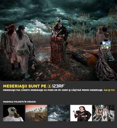 """O2"" Auction by Miclea Iulia-Minerva. Meseriasii sunt pe 123RF!"