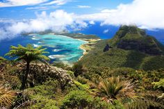 Australians don't sacrifice sustainability for tourism. Lord Howe Island, the most beautiful island of coral reefs, is only allowed to host ...