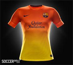 Barcelona Launch Nike 2012/13 Home & Away Replica