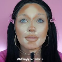 """318 Likes, 31 Comments - Tiffany Lynette Davis (@tiffanylynettedavis) on Instagram: """"What a transformation! 😱 Tag a friend who would love this look! • • • @purcosmetics primer…"""""""