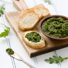 Arugula Pistachio Pesto Recipe - ZipList