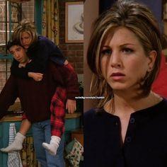 Rachel // Jennifer - You're OVER me? When were you UNDER me?