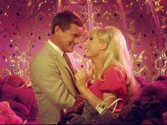 Cute, Larry Hagman, and blonde bombshell, Barbara Eden Barbara Eden, I Dream Of Jeannie, Great Tv Shows, Old Tv Shows, Eden Star, Larry Hagman, Vintage Television, Cinema, Vintage Tv