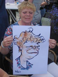 Marion's blog, ipad karikaturist, karikatuur, cartoon, workshop, tekenaar: live karikaturen